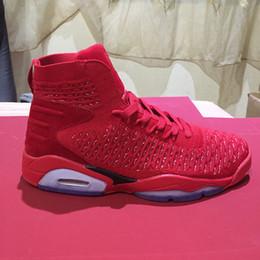 Boîte chinoise en Ligne-En gros Avec la boîte 6 VI Chine Chine rouge 6 s HOMMES chaussures de basket-ball sport baskets formateurs 2018 taille de haute qualité 8-12