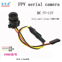 аэрофотоаппараты Скидка National parcel post FPV camera aerial high-definition 1000 line 90 degrees ultra wide color model aircraft special traversing m