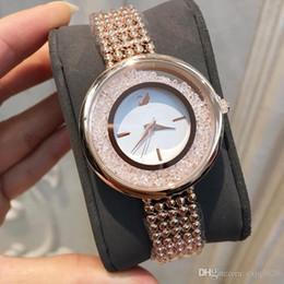 5ff9cfef195 Moda Feminina Relógio Com Pulseira de Diamantes Cadeia Japão Movimento  Casual Estilo de Aço vestido de mulher de Quartzo Casual Assista Relojes De  Marca ...