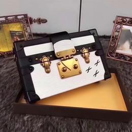 2020 pvc kupplung großhandel L130 94219 Heißer Verkauf Großhandel Designer Box Luxus Handtaschen Abendtaschen Leder Mode Box Clutch Brick Berühmte Messenger Schultertasche günstig pvc kupplung großhandel