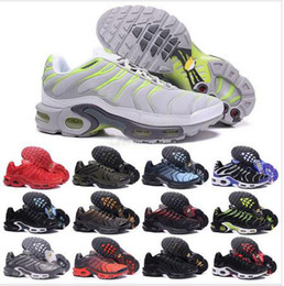Wholesale Cake Clay - New Running Shoes Men TN Shoes Sell Like Hot Cakes Fashion Increased Ventilation Casual Shoes Olive Cargo GS Sneakers Shoes, Free Shipping