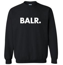 joggeurs pour hommes hip-pop Promotion Mode Hommes Sweats Casual BALR Sweat Cool Hip Pop Pullover Hommes Sportwear Manteau Jogger Survêtement livraison gratuite