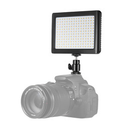camera photography Promo Codes - WANSEN 12W 192 LED Super Slim 3200K-6000K Studio Video Continuous Light Lamp Photography Fill Light For Canon Nikon Sony Camera DV Camcorder