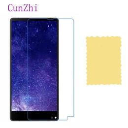 Argentina cunzhi 3 PCS High Clear Protector de pantalla LCD para Oukitel MIX 2 Protección Ultra Slim Film supplier mixed screen protectors Suministro