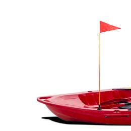 Accessoires de bateau en Ligne-Bateau gonflable bricolage kayak accessoires kit de montage de drapeau de sécurité de kayak universel pour bateau à rames canot yacht yacht dériveur m3158
