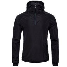 Argentina Jacket Men Brand Clothing Mens 2018 Impermeable Negro Thin Bomber Jacket Tactical Con Capucha Casual Delgado Hombre Abrigos de Poliéster Hombres cheap tactical thin jacket Suministro