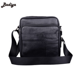 4b5512c45d55 leather briefs for men Coupons - Casual Real Leather Men Bags High Quality  Black Shoulder Bag
