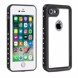 Iphone point blanc en Ligne-Redpepper Pour iPhone 7/8 Coque Etanche Dot Series Slim Fit IP68 Certifié Antichoc Dirtproof Snowproof Armor Cover pour iPhone 7 Blanc