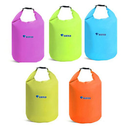 Wholesale Outdoor Waterproof Bags - Portable Water Bag 20L 40L 70L Waterproof Storage Dry Bags for Canoe Kayak Rafting Sports Outdoor Camping Equipment Travel Kit OOA4985