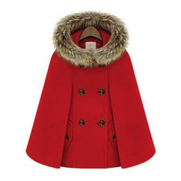 Nueva Retro 2015 abrigos de invierno para mujer de estilo británico Cap Chal Capa Cape Femme Women Wool Coat A872 desde fabricantes
