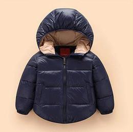 Chaqueta de abrigo para niños Chicos de abajo Chicos 18 meses - 5 años Meses Sudaderas con capucha Abrigo de invierno impermeable Niños de Navidad Outwear desde fabricantes