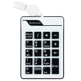 2019 air touch tastatur usb JONSNOW Mini USB 19 Tasten Silikon Air Touch Numerische Tastatur für Digitale Tastatur Ultra Slim Nummernblock Compute PC Laptop rabatt air touch tastatur usb