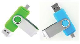 Wholesale Mobile Offering - New 50pcs lot Mobile U disk 64GB 128GB creative OTG Dual USB flash drive USB mini special offer free shipping personality characteristics
