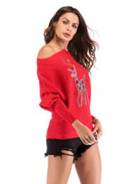suéter de reno Rebajas Suéter de perforación de renos navideños de Europa y Estados Unidos con un conjunto de abrigo en el interior femenino