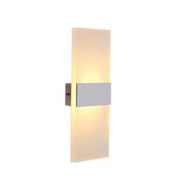 Creative petite lampe murale acrylique 3w deux têtes led mur lumière moderne style simple nordique applique miroir de courtoisie avec lumières ? partir de fabricateur