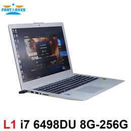Wholesale Computer I7 - Partaker Latest L1 15.6 Inch I7 6498DU 2G Discrete Graphics Laptop Computer