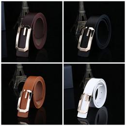 Wholesale grinding belts - High Quality Male Belt Luxury Solid G Shape Designer Straps Edge Grinding Waist Belts Top Quality 4 5dr B