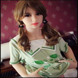 Wholesale Chest Sex - Free Shipping top quality 158cm Japanese full silicone love doll with Vagina, anus, oral and chest life size sex dolls realistic love doll