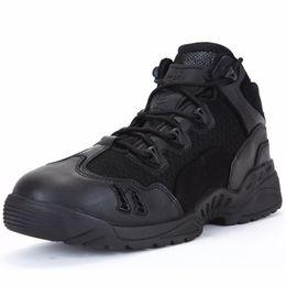 Canada PAVEHAWK Chaussures de randonnée Bottes de combat pour hommes à la cheville basses Sports de plein air, baskets, Assaut, uniformes, bottes tactiques en cuir cheap tactical shoes lowest Offre
