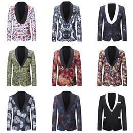 abrigo formal de estilo de los hombres Rebajas 2018 otoño chaqueta de traje casual de los hombres nuevo estilo masculino Slim Fit Blazer Coat Tops de alta calidad adolescente vestido formal