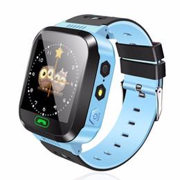 Argentina Y03 Smart Watch Kids Reloj de pulsera con pantalla táctil GPRS Locator Tracker Anti-Lost Reloj de seguridad con smartphone con cámara remota SIM supplier safety cameras Suministro