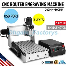 Wholesale Wood Engraving Machine Cnc - 3 AXIS 3020T USB CNC ROUTER ENGRAVER CUTTING stone wood engraving machine CNC USB 3020T Router Engraver Engraving Drilling JF-818