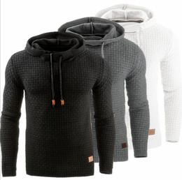 Felpa 2018 Giacca da uomo Autunno e Inverno New European e American  Jacquard maglione a maniche lunghe con cappuccio caldo Hoodie giacca  americana economici 3d803d0b541