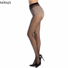 Wholesale Nylons Hosiery - 12D Plus Size Nylon Tights Women Solid Color Transparent Tights Fashion Big Size Black Resistant Pantyhose Hosiery Female