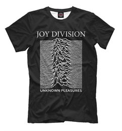 classic rock shirts Promo Codes - Joy Division - t-shirt English rock band tee Post-punk Warsaw Unknown Pleasures RETRO VINTAGE Classic t-shirt