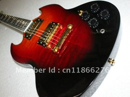 Wholesale Sg Red Guitar - Free Shipping Newest More Colors SG Model Electric Guitar Rosewood