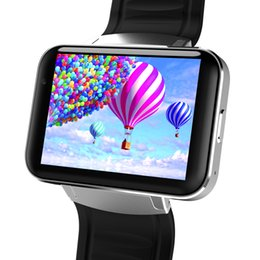 Relógio inteligente dual core on-line-Fizili dm98 bluetooth smart watch 2.2 polegada android 4.4 os 3g smartwatch telefone mtk6572a dual core 1.2 ghz 4 gb da câmera rom wcdma gps