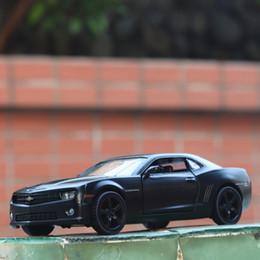 Chevrolet geschenke online-1/36 Chevrolet Camaro Diecast Alloy Modell zurückziehen Auto Spielzeug Kinder Geschenke