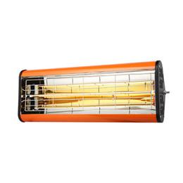 químicos naranjas Rebajas Lámparas de curado de pintura Calentador de cabina para hornear Infrarrojos Aerosol Pintura Luces Calefacción