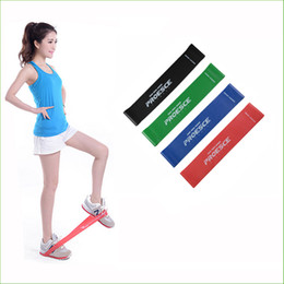 Wholesale Fitness Rubber Band - BBR02 New 4psc lot 4 Levels Available Pull Up Assist Bands Crossfit Exercise Body Ankle Fitness Resistance Loop Band