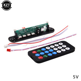 Wholesale Car Remotes For Sale - Hot Sale DC 5V 12V Micro USB Power Supply TF Radio MP3 Decoder Audio Board For Car Remote Music Speaker