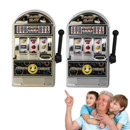 Wholesale Game Slot Machine - Mini Casino Jackpot Fruit Slot Machine Moneybox Game Kid Fidget Finger Focus Toys Novelty Games Hand Spinner Stress Relief Toy FFA162 50PCS