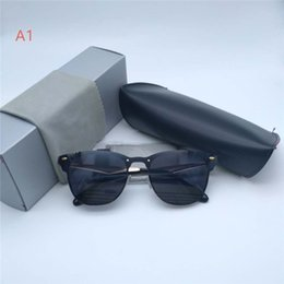 Marcas de gafas de sol de moda online-Nuevas gafas de sol para hombre Mujer Moda Sunglases Trendy Sunglass R3576 MARCA Gafas de sol Unisex UV400 para exteriores Gafas de sol CON CAJA