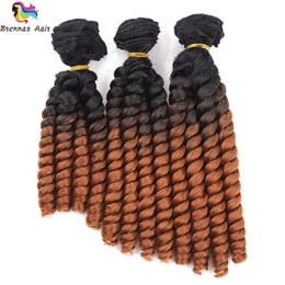 Argentina Envío gratis Fumi twist trenza Bouncy Spring Curl twist trenza extensiones de cabello sintético Fumi Hair Weft pelo de la mujer para la mujer EE. UU. Suministro