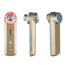 Massage ultrason photonique en Ligne-3M Ultrasonic Facial Massager Ionique Pore De La Peau Propre Électrique De Vibration De Massage Photon Thérapie Corps Visage Beauté Soins De La Peau Dispositif