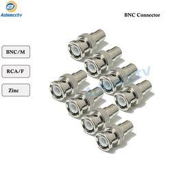 koaxialkabel cctv kamera Rabatt BNC Connertor BNC Stecker auf Cinch Buchse Koaxialkabel Stecker Adapter für CCTV Sicherheit Zubehör