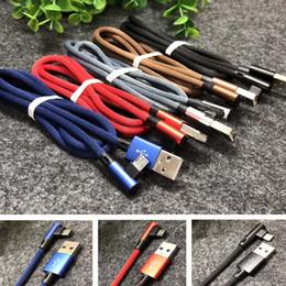 2019 осветительные шнуры для сотовых телефонов Новое прибытие плетеный Micro USB кабель для Android 1M 3FT телефон зарядное устройство V8 кабель для Samsung высокого качества