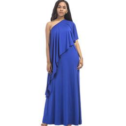 sexy vestido formal formal de la boda Rebajas Gran tamaño SEXY diseñador largo vestido de la pista 2018 de alta calidad más el tamaño de la ropa de las mujeres formal del banquete de boda evento evento maxi