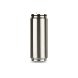 Wholesale Portable Stainless Steel - 2018 Creative can Thermos Cup stainless steel 500ml Vacuum water bottle Flask home outdoor portable vaccum cups