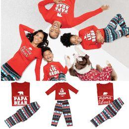 Wholesale Cheap Kids Clothing Sets - 2018 Cheap Discount Xmas Fairy Christmas Family Pajamas Set Adult Kids Sleepwear Nightwear Pjs Photgraphy Prop Clothing Hot!