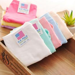 Wholesale young girls bikinis - 100% cotton comfortable Young girl panties candy color panties women's briefs