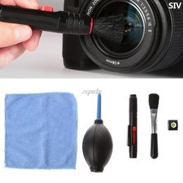 Wholesale Screen Cleaner Computer - SIV 5 In 1 Camera Phone Computer Digital Products Screen Care Cleaning Partner Set Z07 Drop ship
