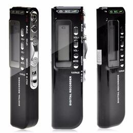gravador de voz digital sd cartão Desconto Marca de venda N10 8 GB Gravador de Voz Digital Ditafone MP3 Player USB Flash Suporta MP3 WMA ASF e Formatos de Música WAV
