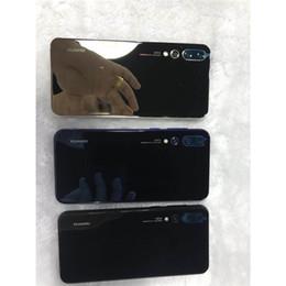 Beste billige telefone online-Store Home Handys Zubehör Am besten A66 Günstige Xiaomi Mi4 White Neue angekommene gebogene Bildschirm P20 Pro 3 Kameras Android8 P20pro 1 GB / 4 GB