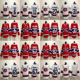 Wholesale Alex Galchenyuk Jersey - 2018 Montreal Canadiens Jean Beliveau Shea Weber Brendan Gallagher Alex Galchenyuk Carey Price Andrew Shaw Max Pacioretty Hockey Jerseys