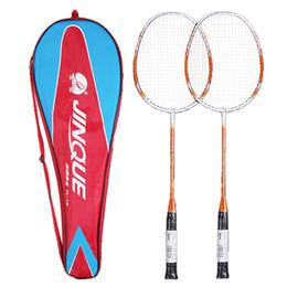 12c6202fa 2 Jogador Raquete de Badminton Raquete De Badminton de fibra de Carbono  Conjunto de Raquetes Profissionais com Saco Da Tampa Da Raquete racket cover    venda